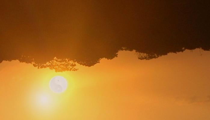 Balance sunset