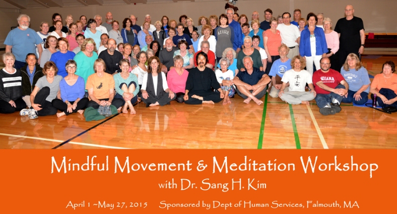 Mindful Movement Workshop with Dr. Sang H. Kim in Falmouth MA