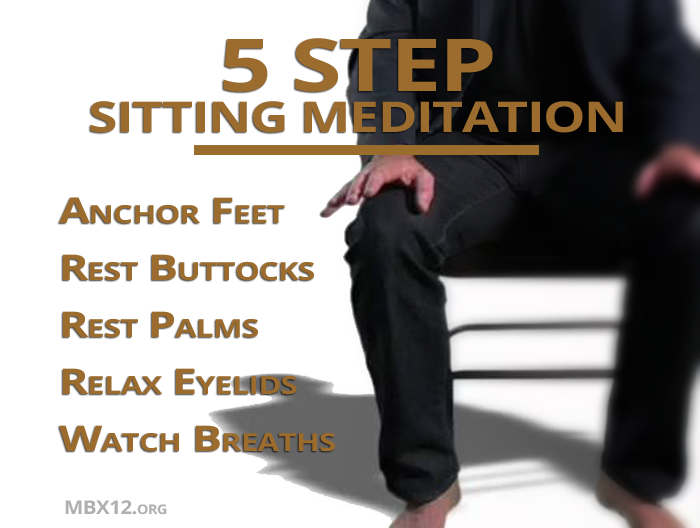 5 Step Sitting Meditation